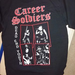 Career soldiers shirt
